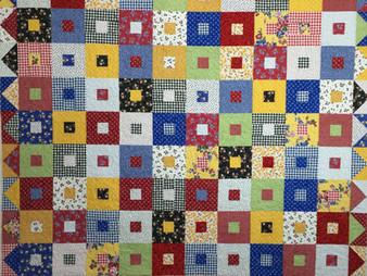 Deb Taylor's Block in a Block Quilt