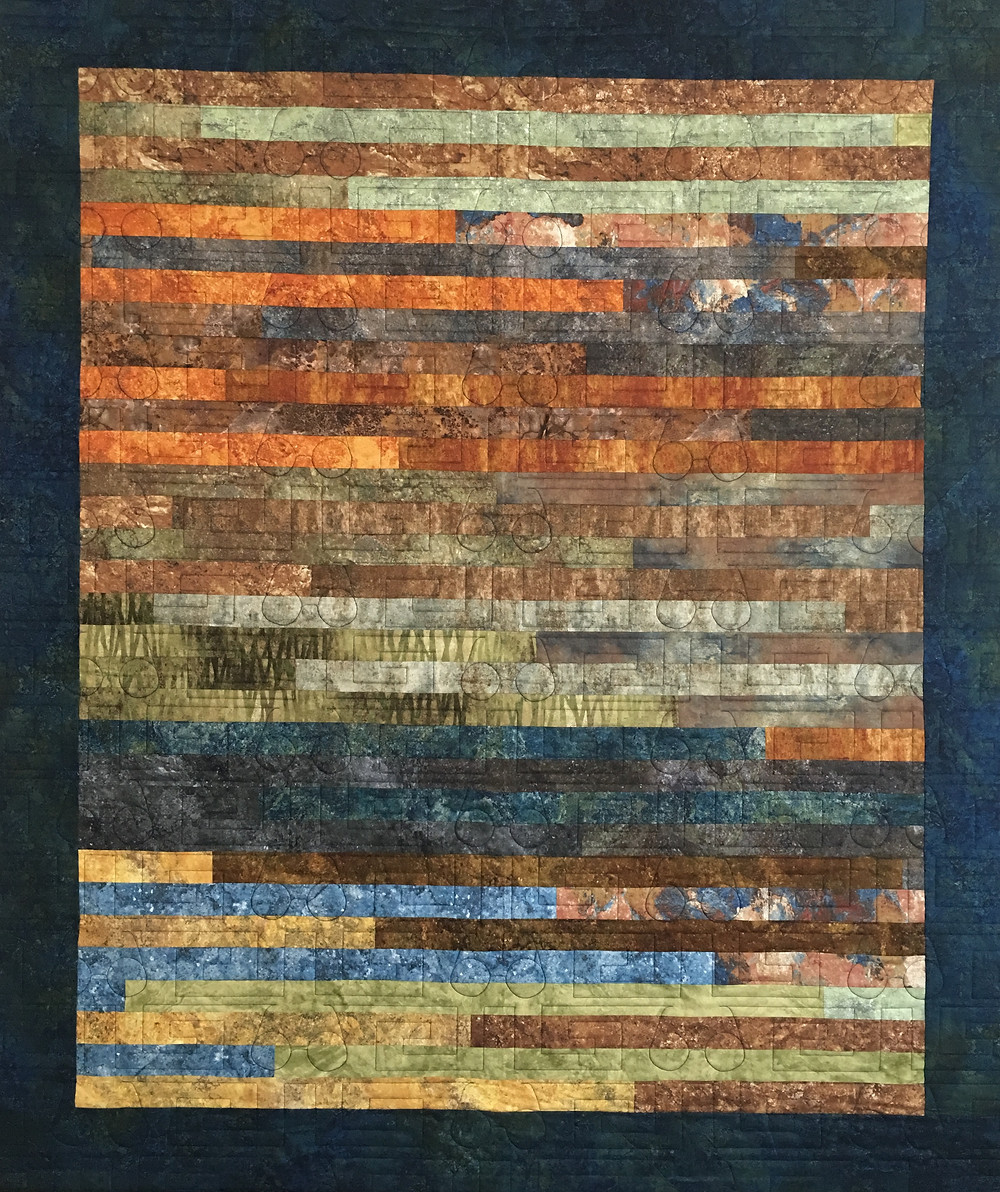 Jelly Roll Quilt by Lori Beckers