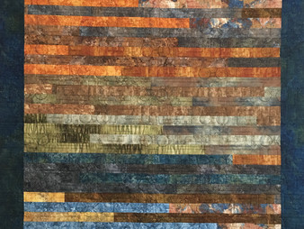 Lori Beckers Jelly Roll Quilt