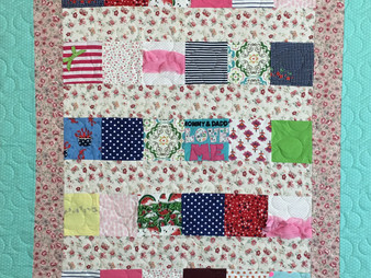 Lindsay Hall Scrappy Quilt for Girl