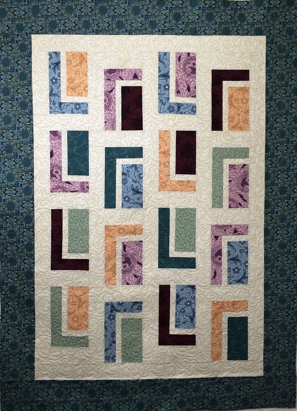 Urban Cabin Quilt by Lynne Capps