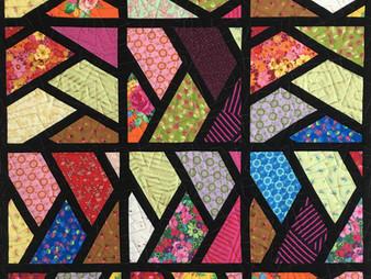 Cindy Lovelace Sash Half Hexi Quilt