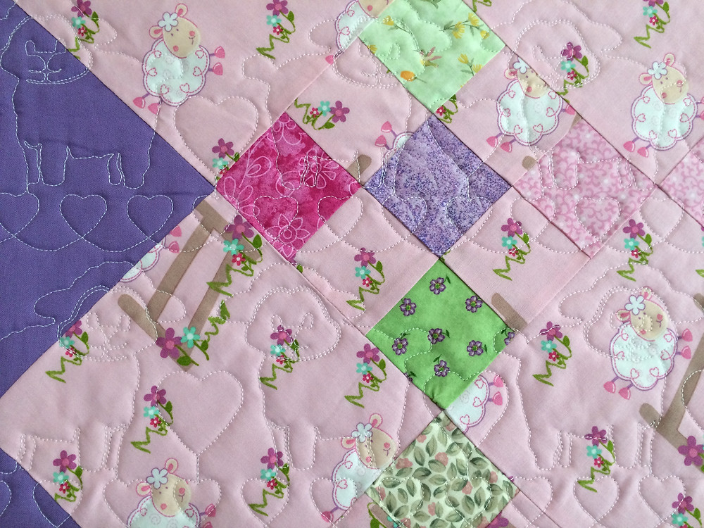 Another closeup of Peggy Krebs Baby Quilt