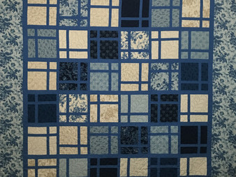 Peggy Krebs Cool Blue Layer Cake Quilt