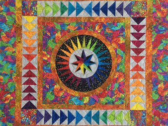 Leanne strum Happiness Quilt