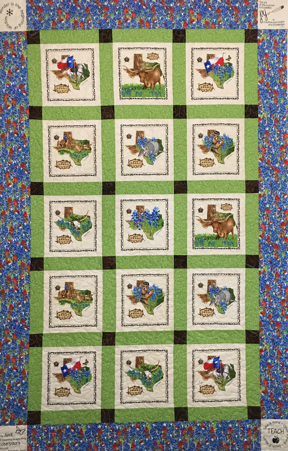 Delia's Retirement Quilt by Debbie Seitz