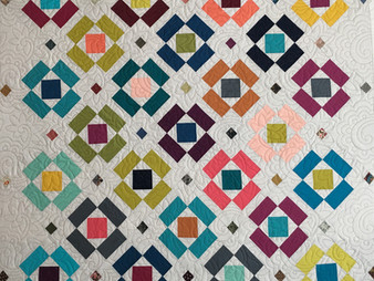 Jill Seward Floating Blocks Quilt