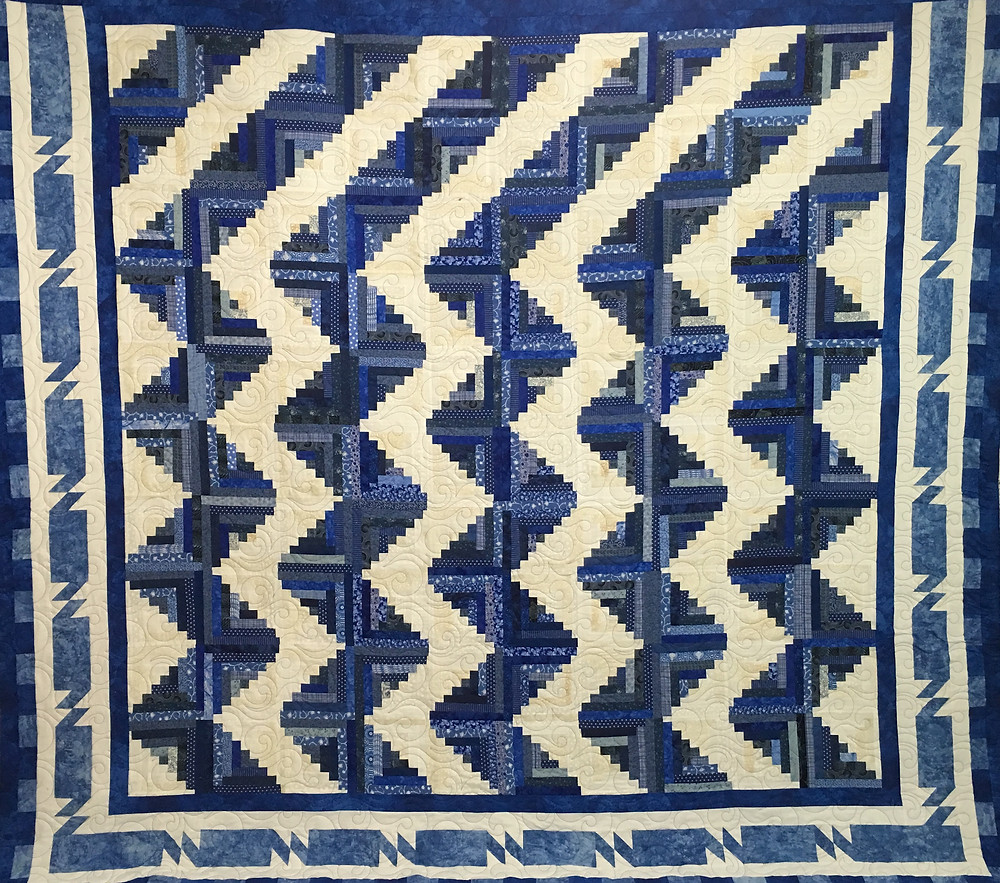 Laura  Log Cabin Quilt