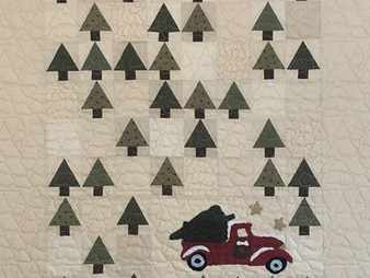 Joan Salesman Vintage Tree Farm Quilt