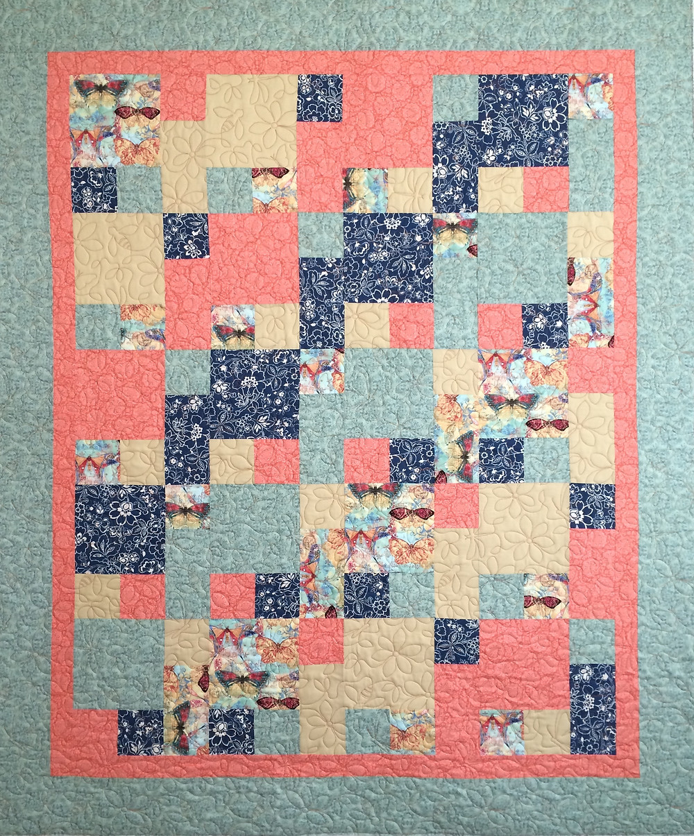 Toni Squares in a Square Quilt