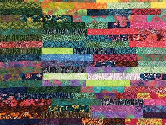Myrt Gross Jelly Roll Quilt