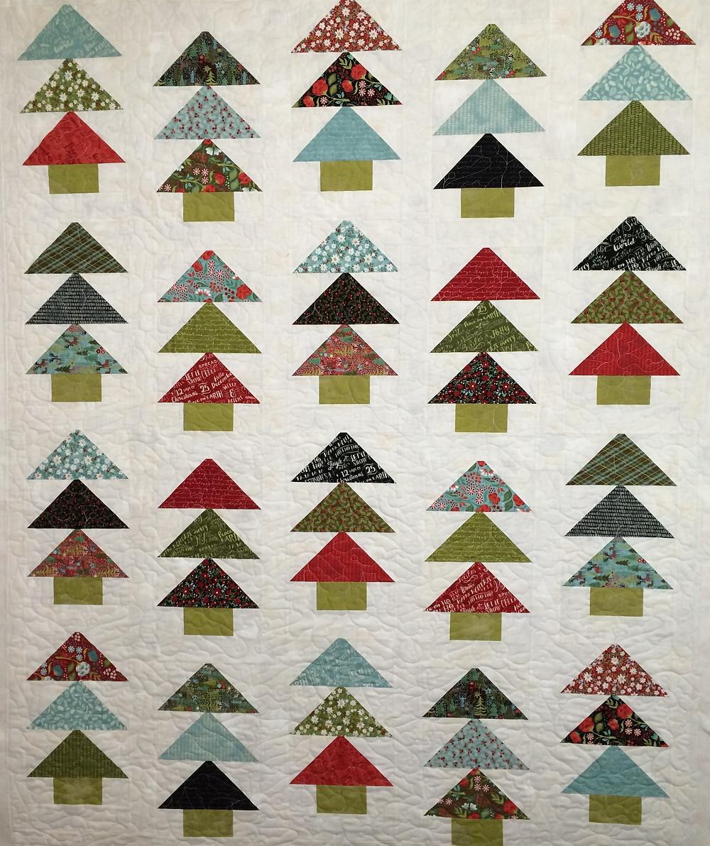 Deborah Festive Forest Quilt