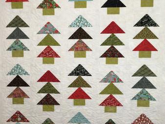 Deborah Hawkins Festive Forest Quilt