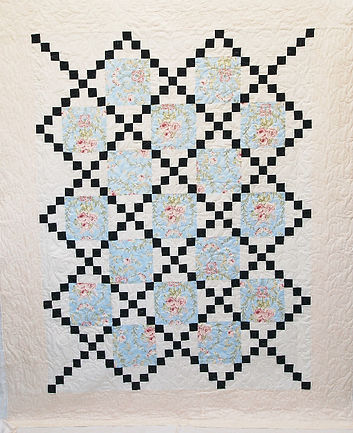 Crossroads quilt is a Quilt Dedication to a special lady