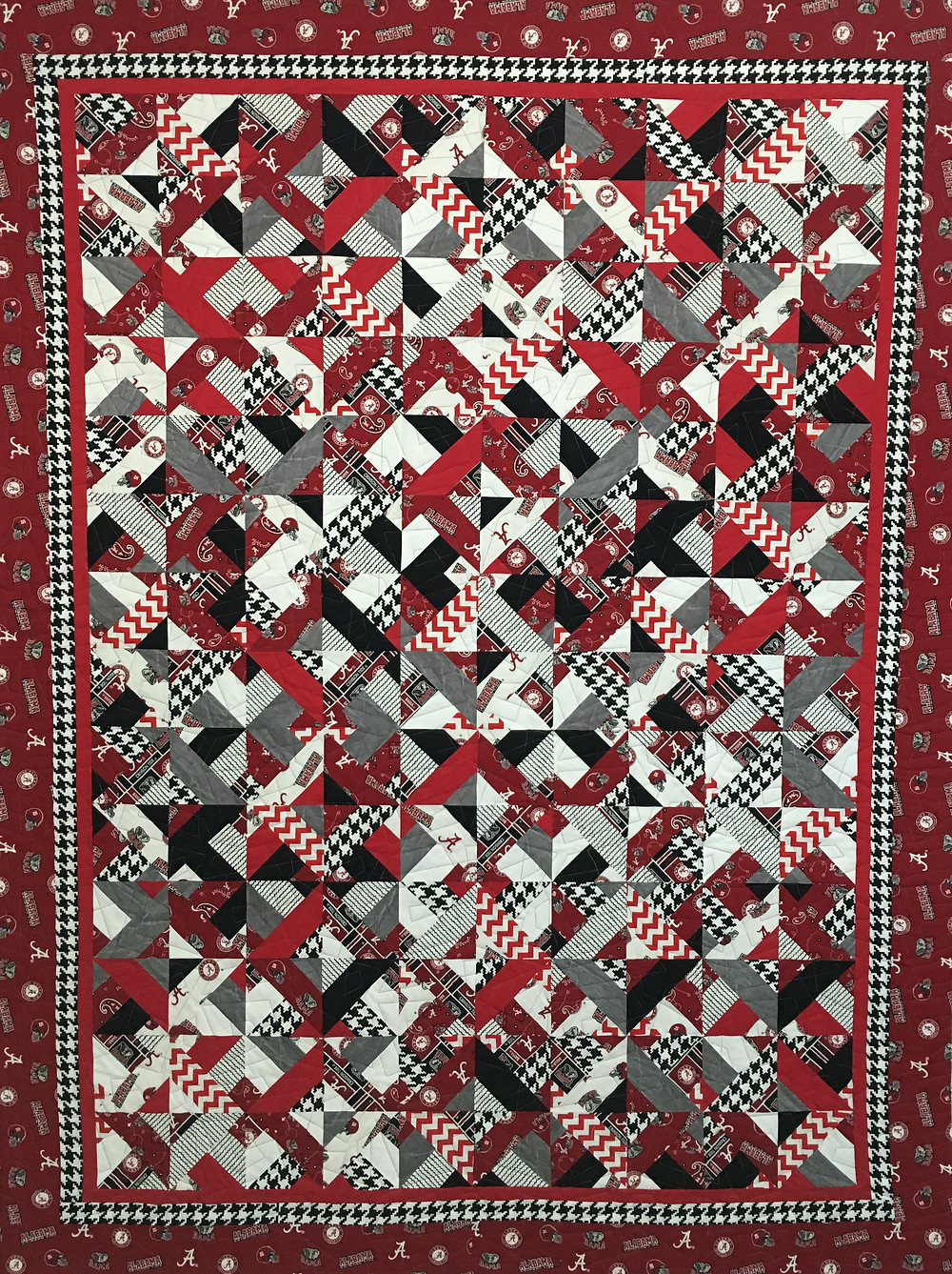 University of Alabama Quilt by Mary Derryberry