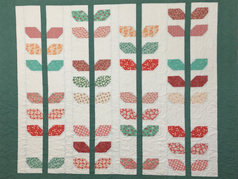 Elsa Murray 1930s Floral Baby Quilt