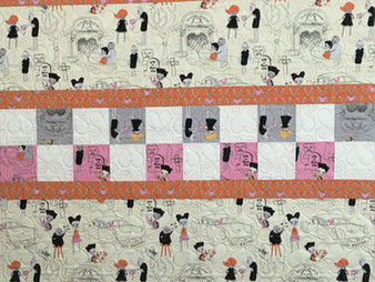 Cheryl Cohorn Married on Halloween Quilt