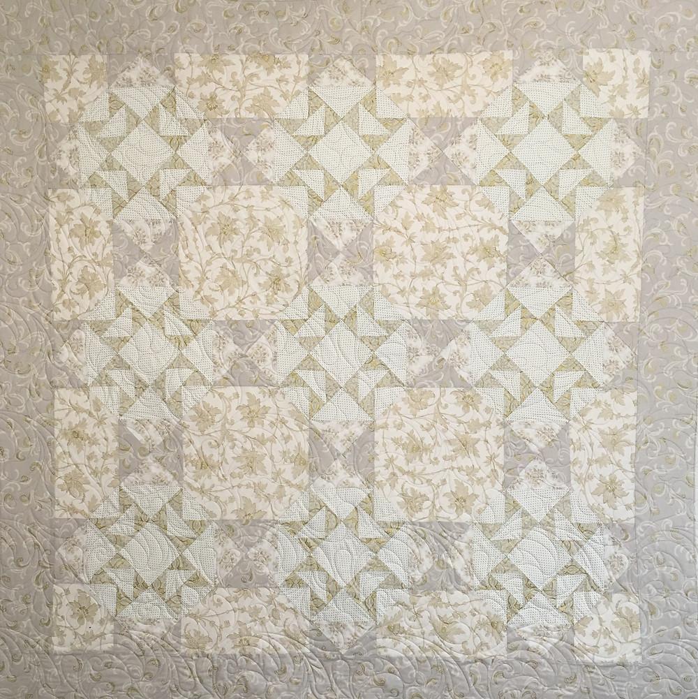 50th Anniversary Quilt by Debbie Seitz
