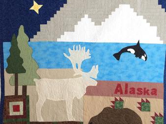 Jamie Bumbalough Alaska Quilt