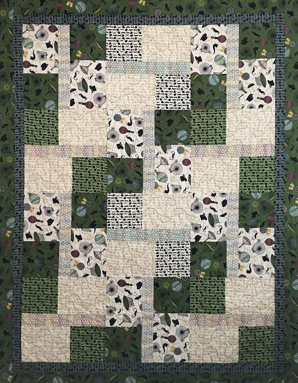 Jenny Paris Theme Quilt