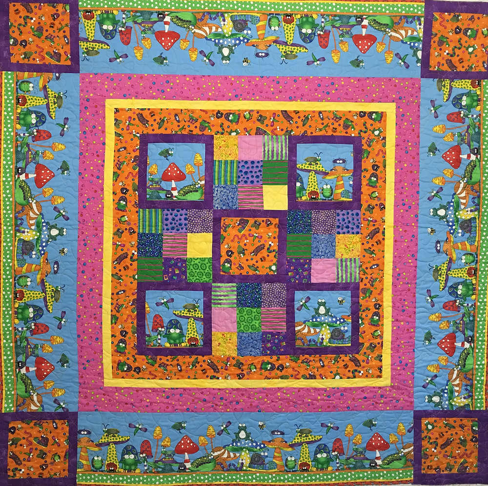 Jeri Couthen Wild Crazy Critters Quilt