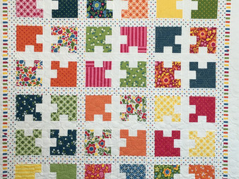 Cheryl Cohorn's Quilt for Daughter's Roommate