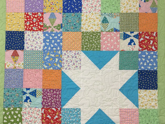 Cindy Lovelace Lone Star Baby Quilt