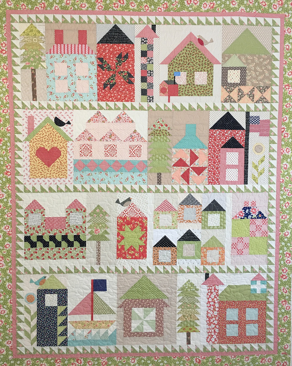 House Sampler Quilt by Deb Taylor