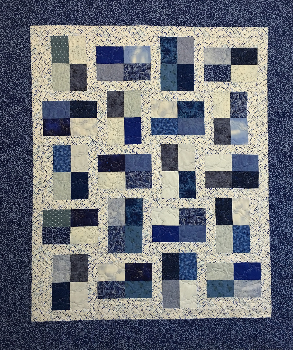 Fraction by Mountain Peek Creations Quilt by Lynne Capps