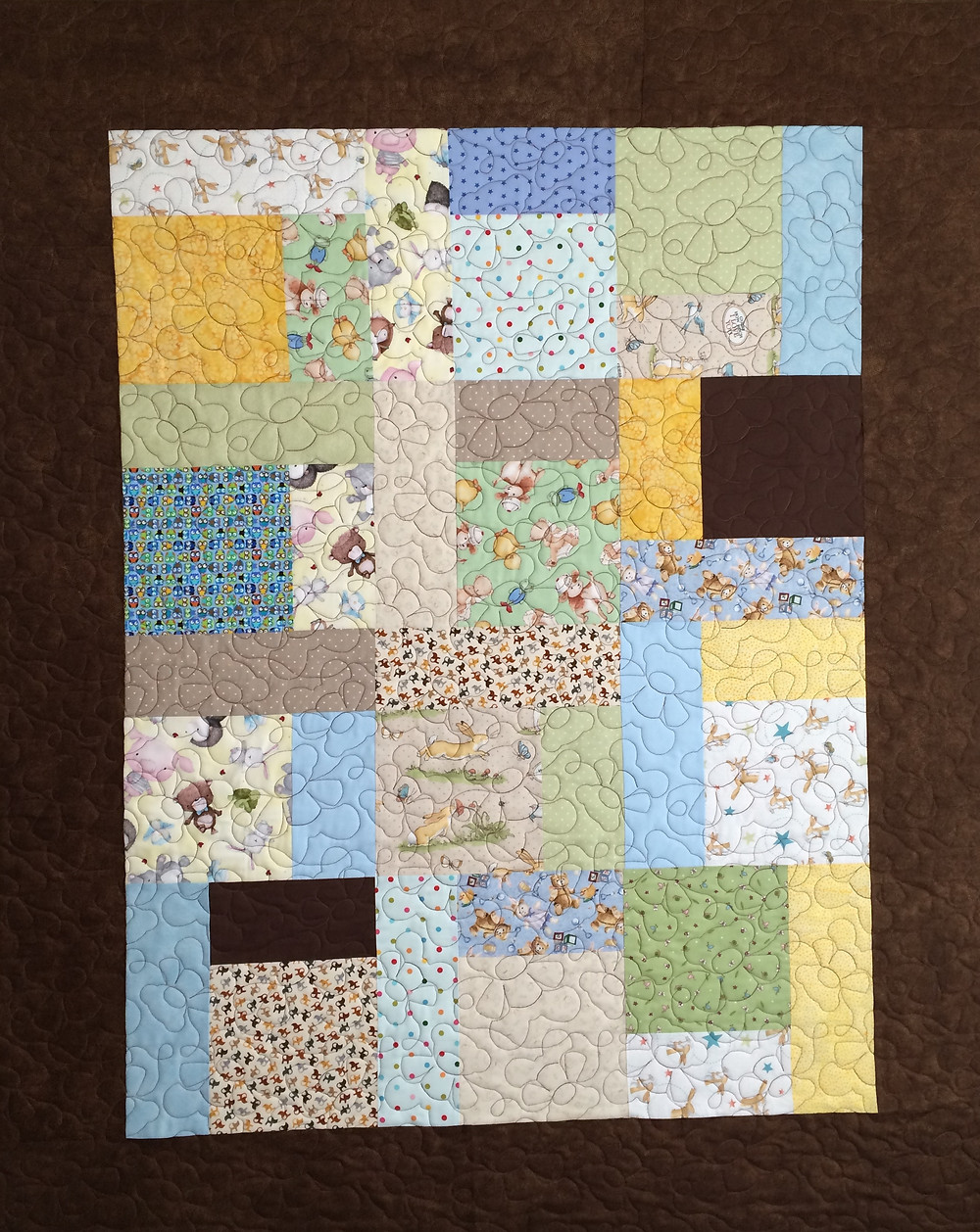 Terri Baby Quilt for Cello Teacher