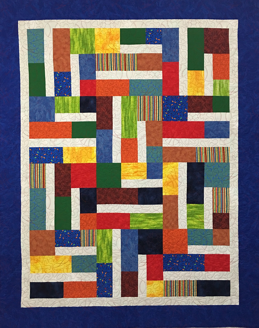Bundle of 12 Quilt by Lynne Capps