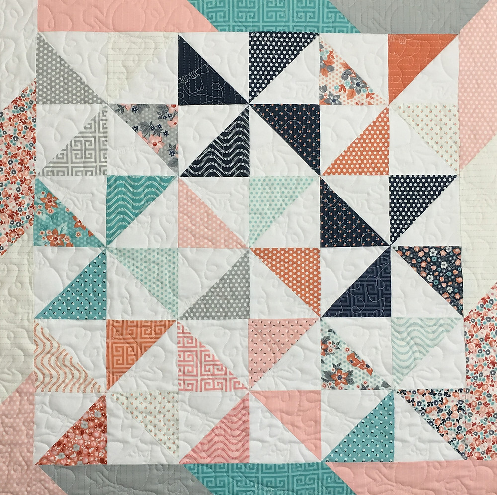 Pinwheels Quilt by Laura Murray