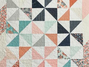 Laura Murray Pinwheels Quilt