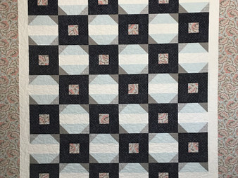Jenny Eaton Five Patch and Snowball Quilt