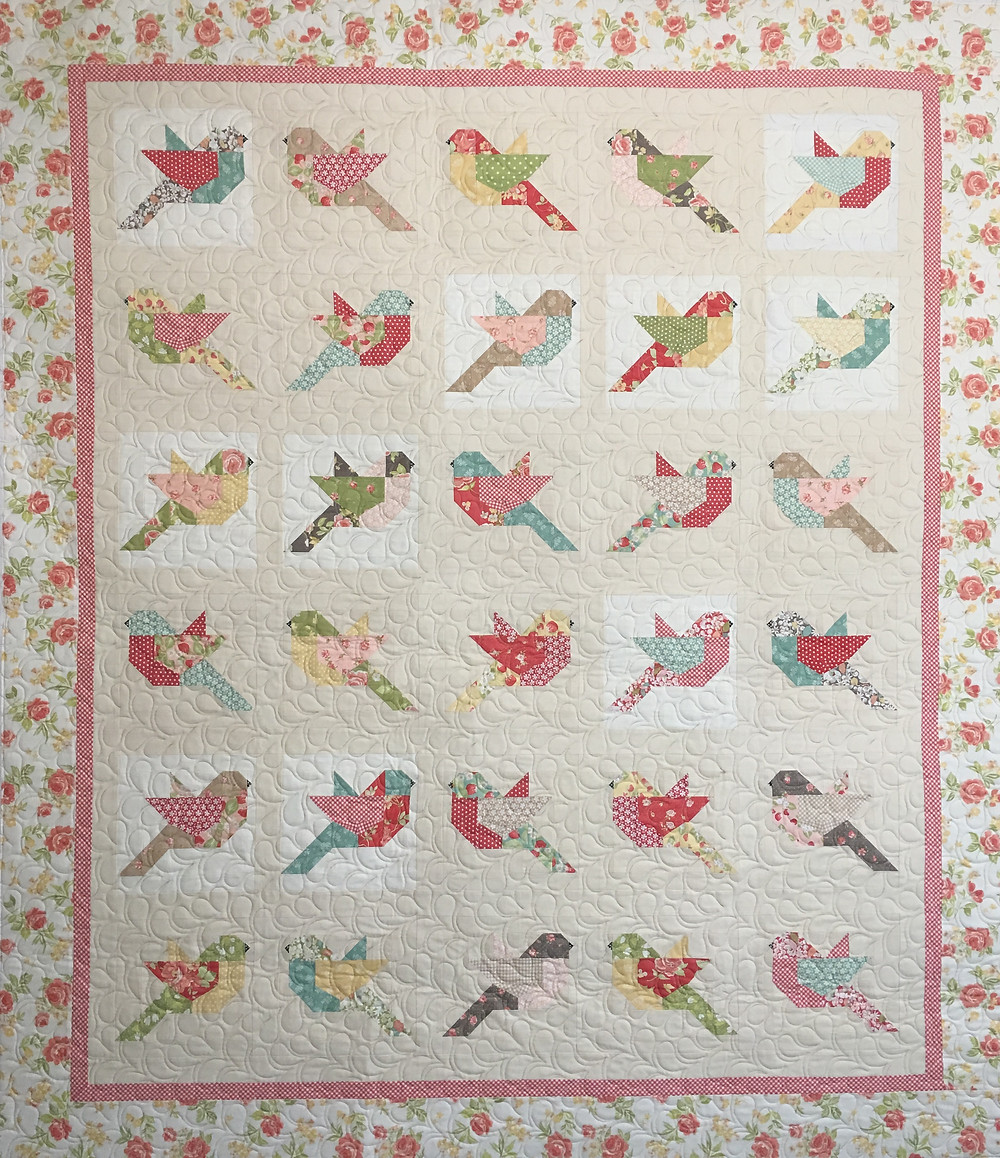 Birds Quilt by Deb Taylor