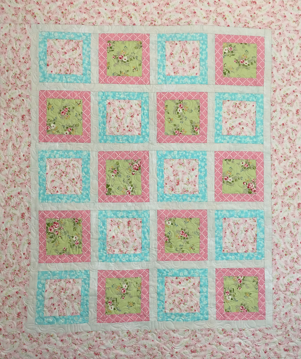 Baby Quilt by Terri Manley