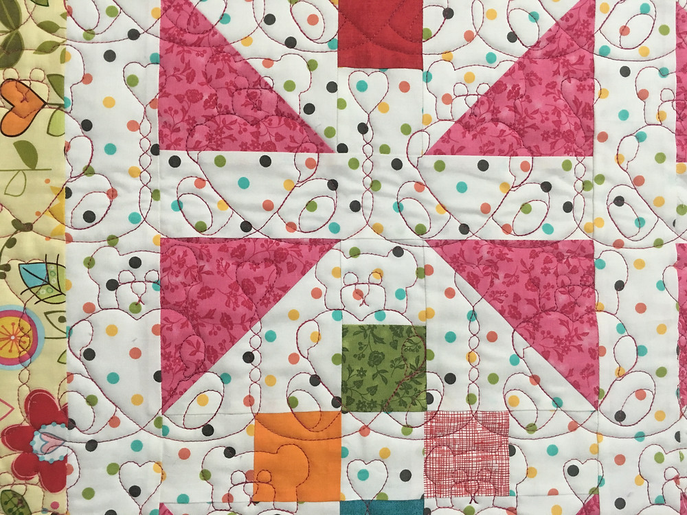 closeup of Terri Manley Baby Quilt