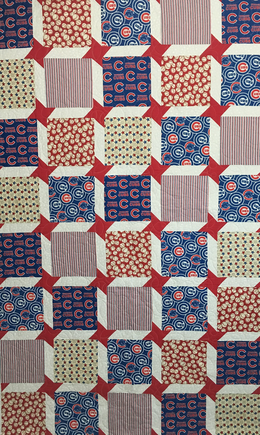 Its all about the Chicago Cubs Quilt by Jocelyn Robinson