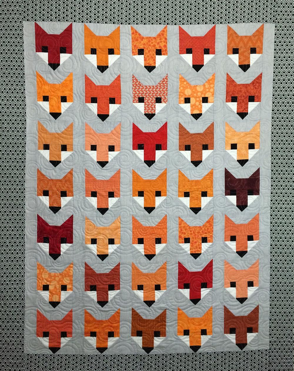 Pearl Fox Quilt