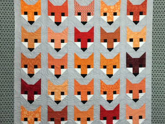 Pearl Combs Fox Quilt