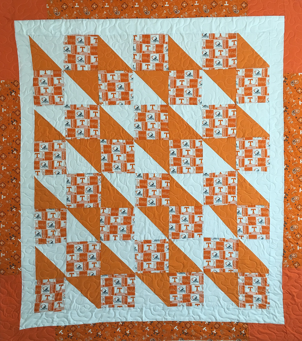 University of Tennessee Quilt by Jefferson Sutton