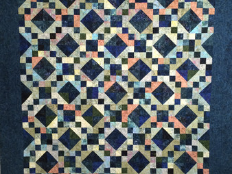 Evelyn Edinburg Jazz Quilt