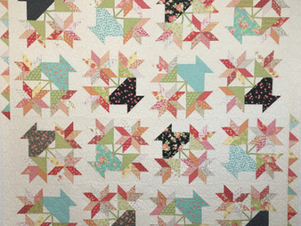 Deb Taylor Flowers in Pot Quilt