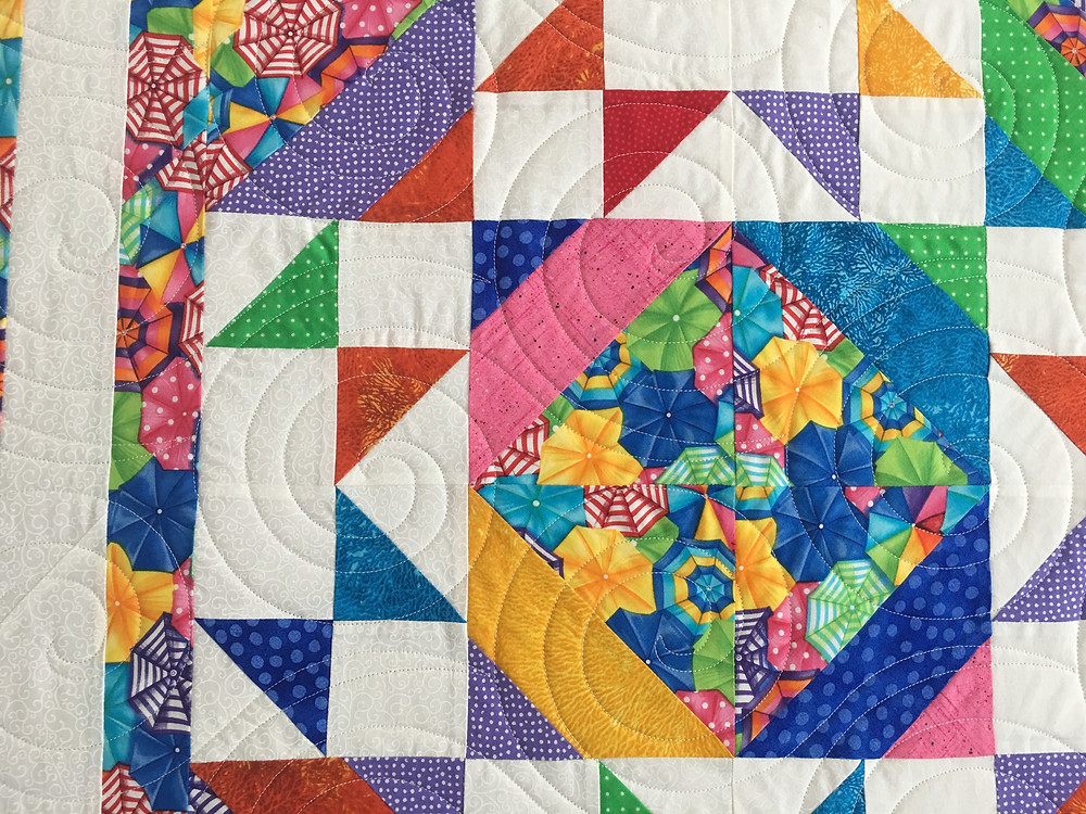 Circles Quilting Pattern o Strip Tube Quilt by Sheila Stuckey