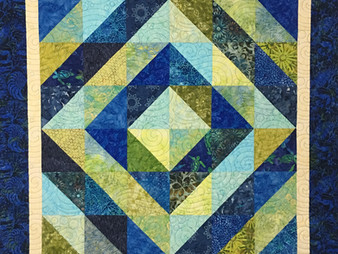 Cindy Manning Square in a Square Quilt