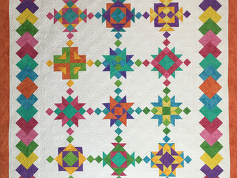 Chris Olsen New Age Block of the Month Quilt