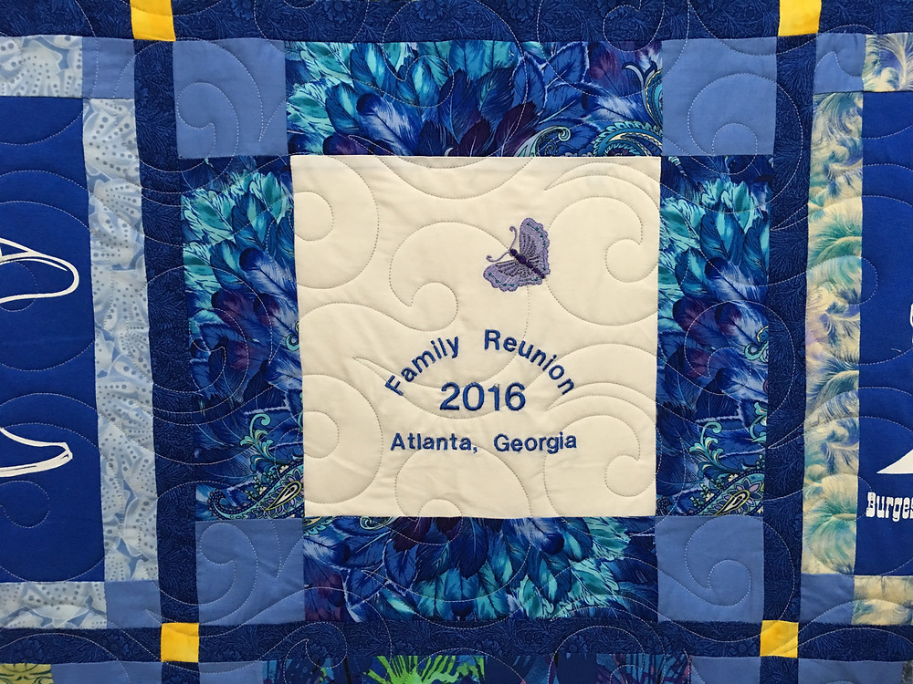 close up of Wendy Family Reunion Quilt