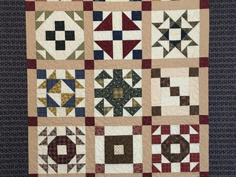 Sandra Entjer Civil War Block of the Month Quilt