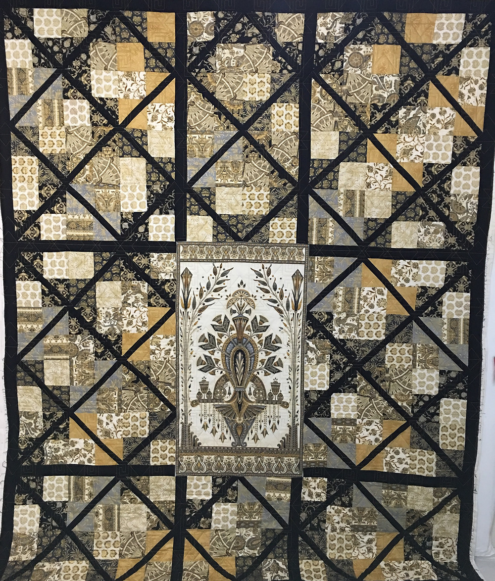 Valley of the Kings Quilt by Bella Malis