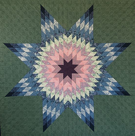 Lone Star quilt made by mylongarm